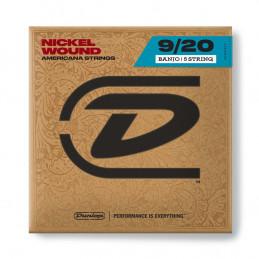 DJN0920 Banjo Nickel Wound, Light Set/5