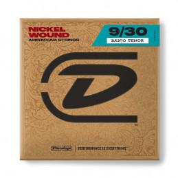 DJN0930 Banjo Nickel Wound, Tenor Set/4