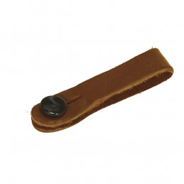 18A0032 Headstock Tie, Brown