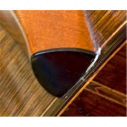 HPL21 HEELPLATE BLK Cover Tacco retro manico Colore Nero