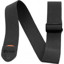 18A0104 Tracolla Cotton Weave, Black, con Pick Holder