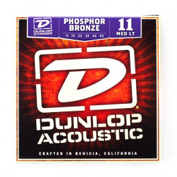 DAP1152 Acoustic Phosphor Bronze, Medium Light Set/6