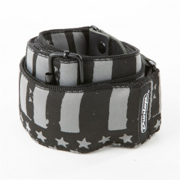 D67-13 Tracolla Jacquard Stars And Stripes