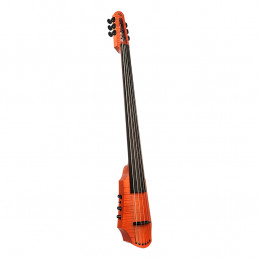 CR Electric Cello 6 Amber Stain