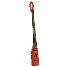 CR Omni Bass 4 Fretted Amber Stain