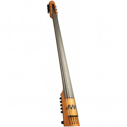 EU Electric Upright Bass 6 Amber Stain