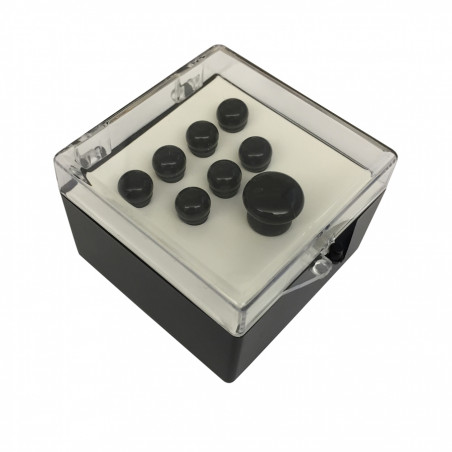 18APP0003 Authentic Series Set Pin Black