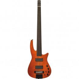 CR Radius Bass 5 Fretless Amber Satin