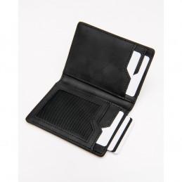 ACCS-00218 Portafogli Suedehead Black