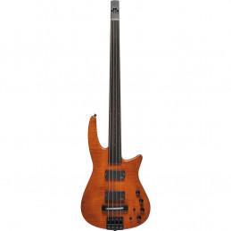 CR Radius Bass 4 Fretless Amber Satin