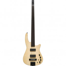 CR Radius Bass 4 Fretless Natural Satin