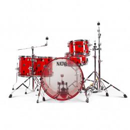 Arcadia Acrylic A2 Set Transparent Red