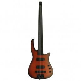 NXTa Radius Bass 5 Fretless Sunburst