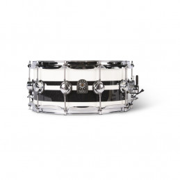 Cafè Racer Rullante 14x6,5 Black White Split
