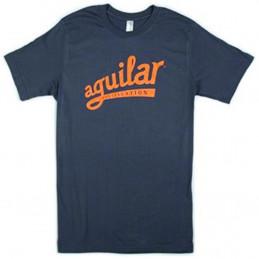 T-shirt con logo Aguilar taglia L