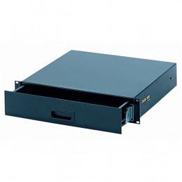 RS/670 Cassetto rack 2 unità con sistema di sbloccaggio/bloccaggio