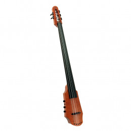 CR Electric Cello 5 Amber Stain
