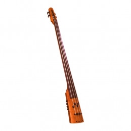 CR Electric Upright Bass 4 Amber Stain