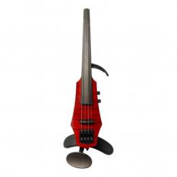 WAV Electric Violin 4 Trasparent Red