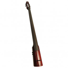 WAV Electric Upright Bass 4 Transparent Red