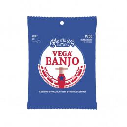 V700 Vega Banjo Strings Light Nickel Wound