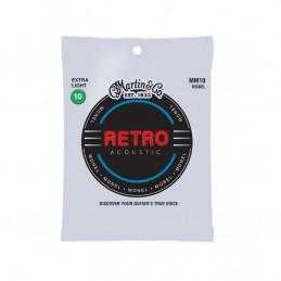 MM10X Retro Acoustic Extra Light Monel Wound 10-47
