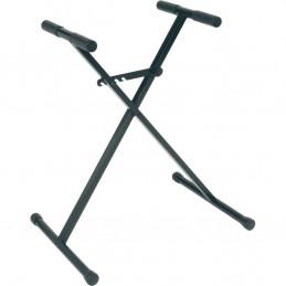 X83 Stand a X Compatto per Tastiera Junior Telaio Singolo Nero