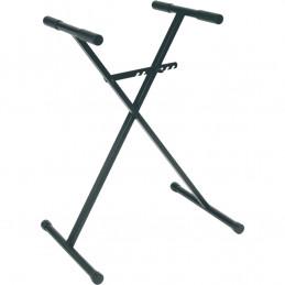 X93 Stand a X Standard per Tastiera Telaio Singolo Nero
