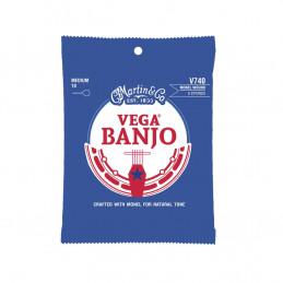 V740 Vega Banjo Strings Medium Monel Wound
