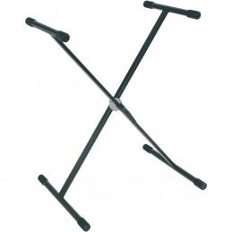 RX Stand a X per Tastiera Telaio Singolo Ball Lock Nero