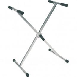 RX20-T Stand a X per Tastiera pesante Telaio Singolo Ball Lock Titanio