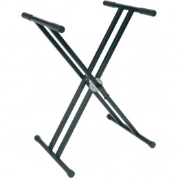 RX40-B Stand a X per Tastiera Telaio Doppio Ball Lock Nero