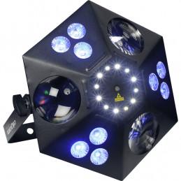 THANOS Proiettore Par LED Multieffetto DMX