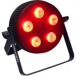 SLIMPAR-510-HEX Proiettore Par LED 5 x 10W RGBWAU
