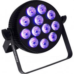 SLIMPAR-1210-HEX Proiettore Par LED 12 x 10W RGBWAU