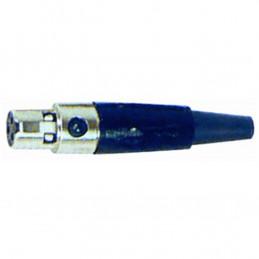 NC/344K Mini XLR femmina 3 poli