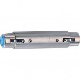 F/285-K Adattatore audio Cannon XLR femmina 3 poli/Cannon XLR femmina 3 poli