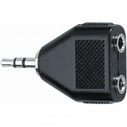 AD/20 Adattatore audio 2 Jack 3.5 mm stereo femmina/Jack 3.5 mm stereo