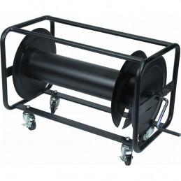AVFE/500 Avvolgicavo in metallo nero