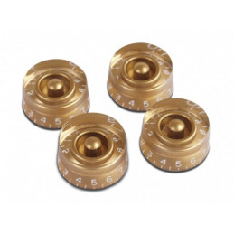 GIBSON SPEED KNOBS - 4 PACK GOLD PRSK-020