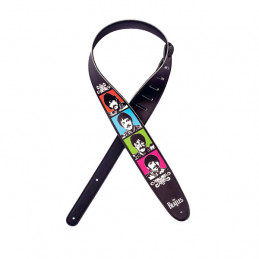 PLANET WAVES 25LB09 VEGAN GUITAR STRAP SGT. PEPPER'S LONELY HEARTS CLUB BAND 50TH ANNIVERSARY