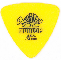 DUNLOP TORTEX TRIANGLE YELLOW - 0.73