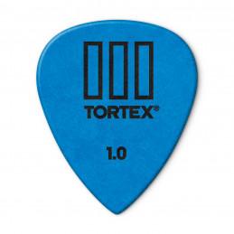 DUNLOP 462R1.0 PLETTRO TORTEX T-III BLUE