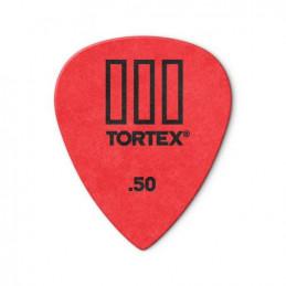 DUNLOP 462R50 PLETTRO TORTEX T-III RED