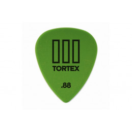 DUNLOP 462R88 PLETTRO TORTEX T-III GREEN