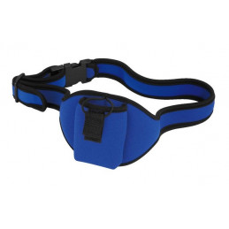 MONACOR TXS-10/BELT MARSUPIO PER BODYPACK - BLUE