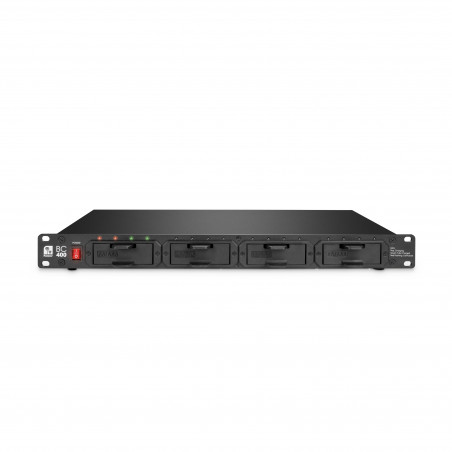 """PALMER MI BC400 AA CARICABATTERIE PROFESSIONALE RACK 19"""""""