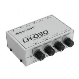 OMNITRONIC LH-030 HEADPHONE AMPLIFIER 4 CH.