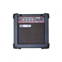 EWAVE B-15 COMBO BASS AMP 15W
