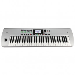 I3 MUSIC WORKSTATION 61 TASTI, USB, MIDI, MATTE SILVER